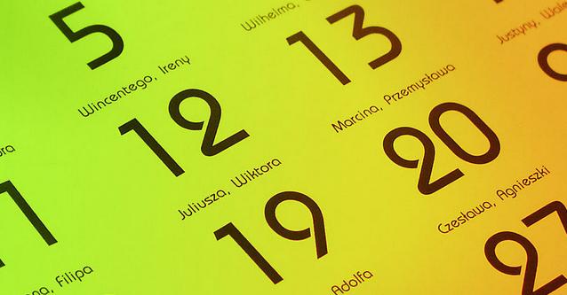JS日历,可获得指定日期周数及星期几