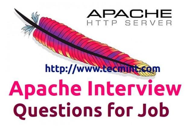 关于Apache的25个初中级面试题