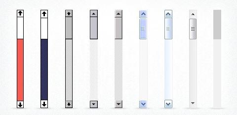 CSS自定义滚动条样式